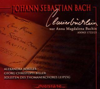 Clavierbuchlein vor Anna Magdalena Bachin