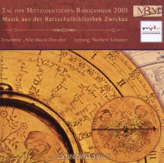 Tag der Mitteldeutschen Barockmusik 2001