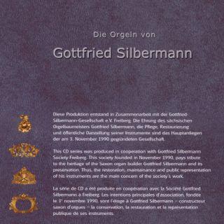 Die Orgeln von Gottfried Silbermann Vol 5-8