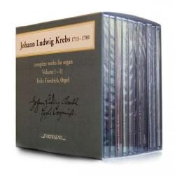 Krebs: Sämtliche Orgelwerke Vol. 1 - 11