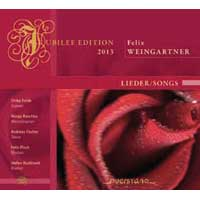 Felix Weingartner: Songs