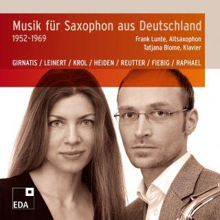 Musik für Saxophon aus Deutschland 1952–1969