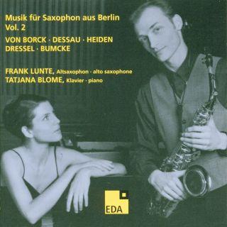 Musik für Saxophon aus Berlin Vol. 2:1934–1938