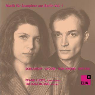 Musik für Saxophon aus Berlin Vol. 1:1930–1932