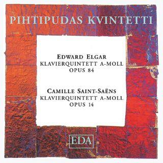 Edward Elgar / Camille Saint-Saëns: Piano Quintets