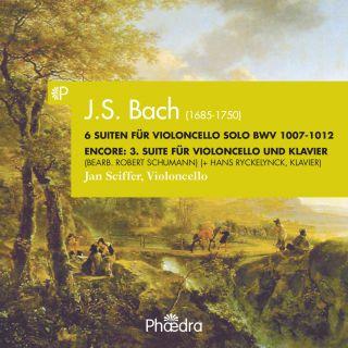 Bach 6 Suiten für Violoncello solo / Suite 3 (arr. R. Schumann)