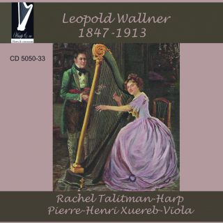 Wallner: Music for Harp and Viola