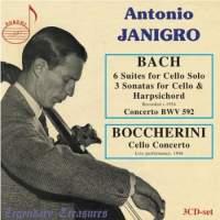 Bach - Boccherini: 6 cello suites, sonatas, Concerto