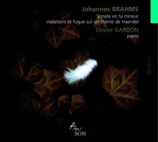 Sonate en fa mineur/Variations et fugue sur un thème de Haendel