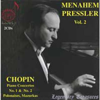 Chopin: Menahem Pressler Vol. 2