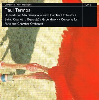 Concerto / String Quartet I / Expres(s) / Groundwork / Concerto