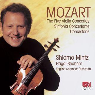 The Five Violin Concertos / Sinfonia Concertante / Concertone