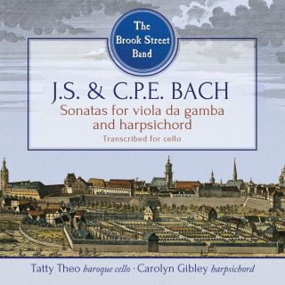 J.S. and C.P.E. Bach: Viola de gamba sonatas