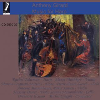 Anthony Girard: Music for Harp