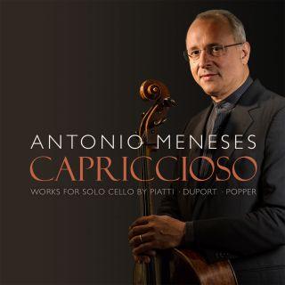 Capriccioso. Works for solo cello by Piatti, Duport and Popper