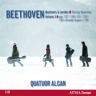 Beethoven: String Quartets, Vol. 3. Op. 127, 131, 130, 133 Grosse Fugue, 132, 135