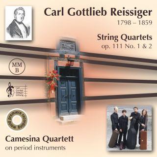 Reissiger: String Quartets Op. 111