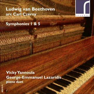 Beethoven Symphonies 1 & 5 arranged for piano duet