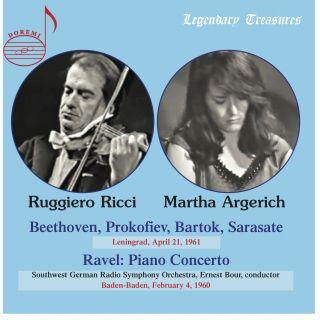 Martha Argerich & Ruggiero Ricci - Leningrad 1961 & Baden-Baden 1960