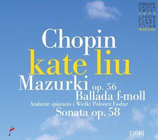 Mazurkas op. 56 / Ballade F minor / Sonata op. 58