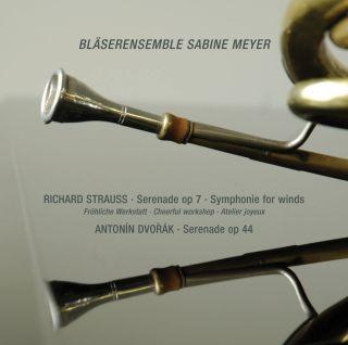 Serenade, Op. 7 & Symphony for Winds - Antonin Dvorak; Serenade, Op. 44