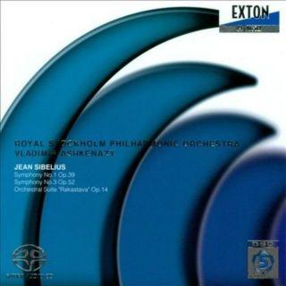 Sibelius Symphonies nos. 1 & 3