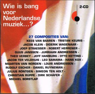 Wie is bang voor Nederlandse muziek...?