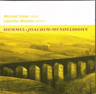 Sonatas for Viola and Piano / Hebrew Melodies