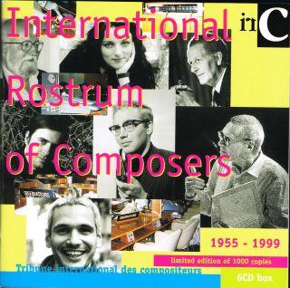International Rostrum of Composers 1955-1999