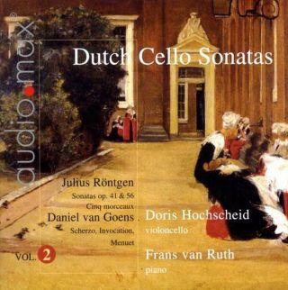 Dutch Cello Sonatas Vol.2