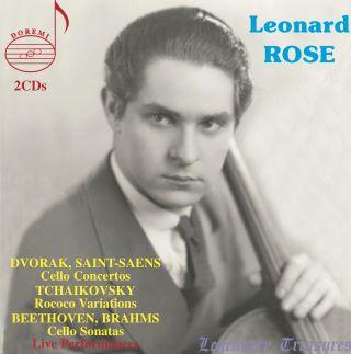 Leonard Rose | Legendary Treasures