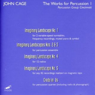 Works For Percussion I:imaginary Landscapes/credo