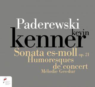 Paderewski. Sonata in E flat minor Op. 21, Humersques de concert