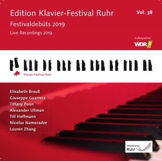 Edition Klavier-Festival Ruhr Vol. 38, Festivaldebüts 2019