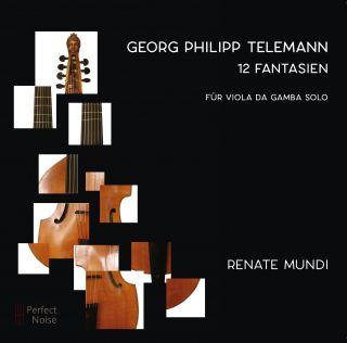 12 Fantasien für Viola da Gamba