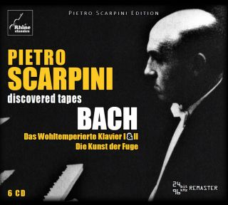Scarpini plays Bach (6CD-box)