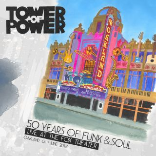 50 Years of Funk & Soul: Live at the Fox Theater - Oakland, CA - June 2018 - 2CD DVD