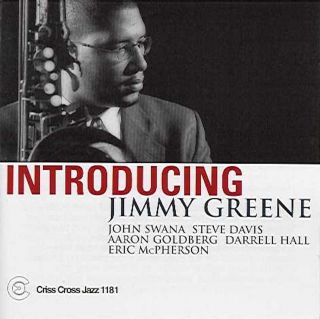 Introducing Jimmy Greene