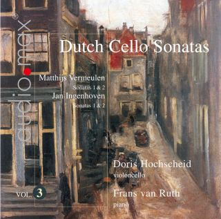 Dutch Cello Sonatas Vol.3
