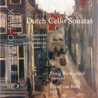 Dutch Cello Sonatas Vol.3