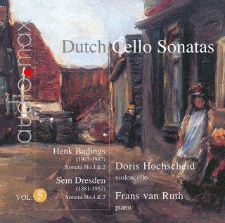 Dutch Cello Sonatas Vol.5