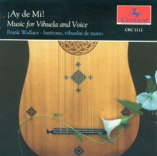 Music Of 16th Century Spain For Vihuela & Voice