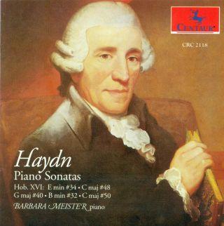Sonatas Hob. XVI: 34, 48, 40, 32, 50