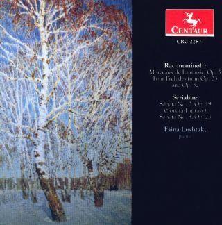Morceaux de Fantasie/4 Preludes/Sonatas Nos.2 & 3