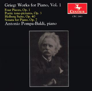 Works For Piano, Vol 1