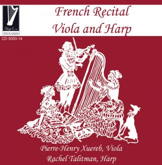 French recital for Viola and Harp