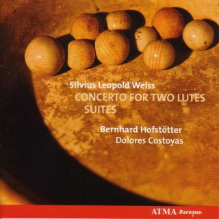 Weiss: Concerto for two lutes/ Suites