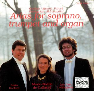 Baroque arias for soprano