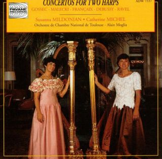 Concertos for two harps