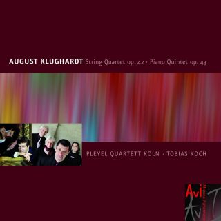August Klughardt, String Quartet in F Op 42 & Piano Quintet in G Minor Op. 43